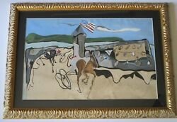William Dove Painting Son Of Arthur Dove Painting Abstract Expressionism Rare