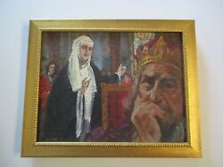 Painting Vintage Iconic Portrait Religious Icon Illustration By George Prout
