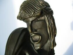 Bob Bennett Bronze Metal Sculpture Rare Signed Edition Of Only 50 Surreal Icon