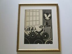 Antique Painting Drawing Art Deco Illustration Vintage Technology Industrial