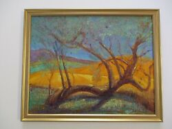 Long Live Don Burgess Oil Painting California Impressionist Warner Springs Mod