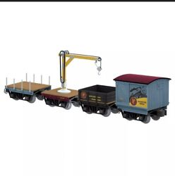 Lionel The Polar Express Elf Work Train 4-pack 2026680 Free Shipping
