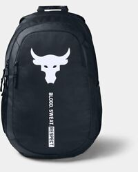 Under Armour Project Rock Brahma Bull Backpack Black #1359284 001 $54.91