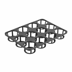 Mesh Nursery Pots Net Cup Basket Hydroponic System Plant Grow Seed Germinate New