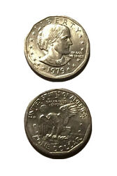 Susan B Anthony Liberty 1979 One Dollar U.s. Mint Coin D And P Rare Find