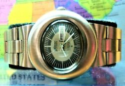 Seiko Diomatic Hi-beat 30mm Day Date Oval Case Oyster Strap 21j Auto Japan Clean