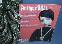 Antique Doll Collector Nov 2010 Shirley Temple Blondinette Doll Trunks More