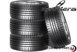 4 New Accelera Phi 235/40zr18 95y Xl All Season Ultra High Performance Tires
