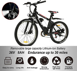 Electric Mountain Bike 26 Electric Bicycles For Adults 350w Motor Ebike4modes