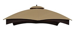 Apex Garden Replacement Canopy Top For Lowe's Allen Roth 10x12 Gazebo