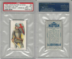P72-15 Player Arms And Armour 1909 5 Knight Round Table Psa 6 Exmt