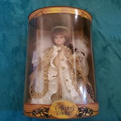 Porcelain Doll Collectors Choice Samantha Limited Edition Vintage Toys Gifts