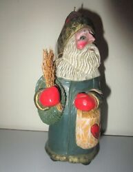 Midwest Cannon Falls Leo Smith Belsnickle Santa Claus Sticks Christmas Ornament