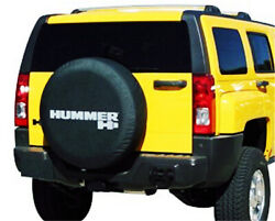30 31 Spare Wheel Tire Cover For Hummer H3 Denim Vinyl Tyre Covers Silver Logo
