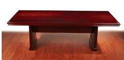 12' Ft Real Wood Conference Table Beautiful Walnut Table Top 144x48