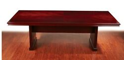 10' Ft Real Wood Conference Table Beautiful Walnut Table Top 120x48