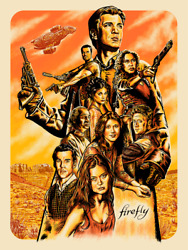 Firefly Heroes Limited Giclee Print Art Poster 200 18 X 24