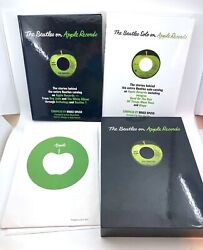 Beatles Solo And The Beatles On Apple Records 2 Vols. Signed Spizer W/ Slipcase