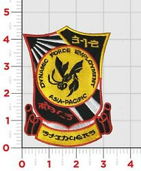 4.5 Marine Corps Vmfa-312 Checkerboards Japan Mals-31 Hook And Loop Jacket Patch