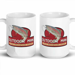 Outdoor Man Last Man Standing Coffee Mug Gift 11oz 15oz Cup Freeshipping White