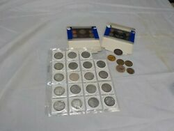 2 1983 Proof Set, 20 Us China 1.00 Tokens, Wooden Nickle Whiskey Tokens. Plus