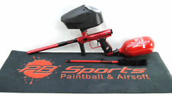 Smart Parts Sp Shocker Amp Deluxe Paintball Marker Package Dust Red New