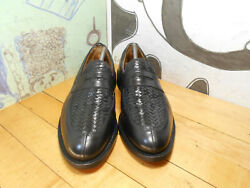 Allen Edmonds Foley Black Leather Penny Loafers Menand039s 10b Made In Usa