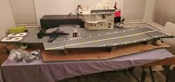 Gi Joe Uss Flagg Aircraft Carrier 1985 Vintage Hasbro Complete Structure 🔥