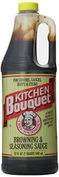 Kitchen Bouquet Browning And Seasoning Sauce 32 Oz. Exp Date 10/2022