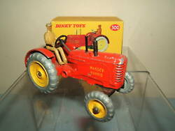 Vintage Dinky Toys Model No.300 Massey Harris Tractor