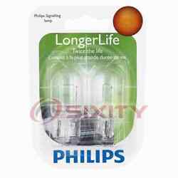 Philips Rear Turn Signal Light Bulb For Cadillac Srx 2010-2016 Electrical Hv