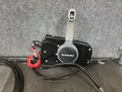 Oem Suzuki Boat Side Mount Throttle Control Binnacle And Cables 67200-93j01