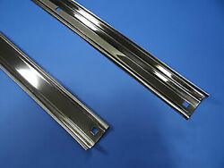 Angle Strips Chevy 1960 - 1966 Polished Stainless Chevrolet Short Stepside Truck