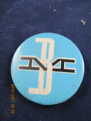 Boston And Maine Railroad Advertising Pin Back Button 1950's-1960's