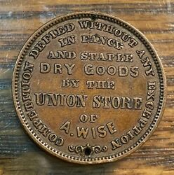 1863 A. Wise Dry Goods Union Store Nyc Cwt Xf Details Best Price On Ebay Chn