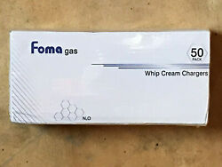 Foma 50 Ct Whipped Cream Chargers