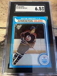 Wayne Gretzky 1979-80 Topps 18. Sgc 6.5 Ex Nm+. Bright Card. Collector Worthy.