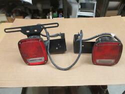 Stair 92 Sae Trailer Truck Tail Lights Brackets And Wiring