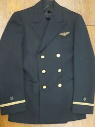 Wwii Naval Aviator Double Breasted Uniform Jacket And Trousers Identified And