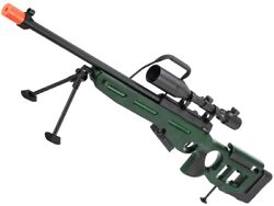 Raptor Twi Sv-98 Bolt Action Airsoft Sniper Rifle Model Deluxe Edition