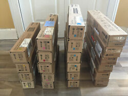 Xerox Workcentre 7970 / 7556 / 7855 / C8055... Color Toners And Waste Containers