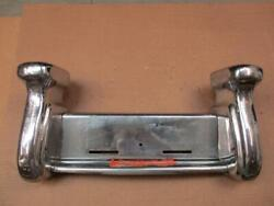 1942-48 Lincoln Continental Front Bumper Guards License Plate Holder