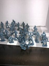 Marx Toys Cape Canaveral Air Force Ground Crew Playset 45mm Figure Lot Of 26 60s