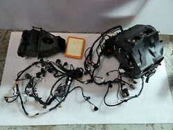 2020 Ducati Panigale V4 Main Wiring Harness Throttle Bodies Intake Air Box Mint