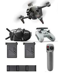 Dji Fpv Combo - Bundle With Fpv Fly More Kit Fpv Motion Controller Landing Pad