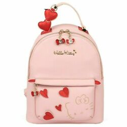 Hello Kitty Women Pink PU Backpack Leather Mini Bag Shoulder Purse FREE SHIPPING $54.99