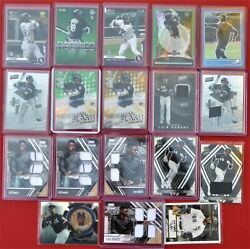 Luis Robert 18 Card Lot 2017-20 Topps Panini Rookie Collection And039edand039s Colored
