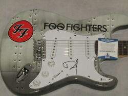 Foo Fighters Dave Grohl Hand Signed Guitar + Psa Beckett Coa Buy Genuine