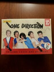 2013 Panini One Direction Trading And Stickers Cards Factory Sealed Blaster Box
