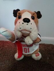 Tl Toys Dog Sports Fan 01 Plush Battery Operated Sports Themed Push Button